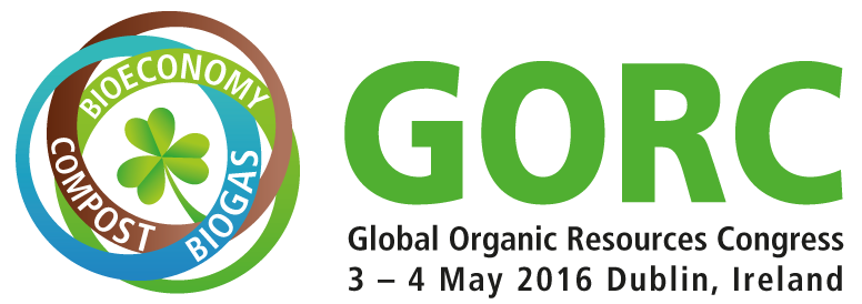 Global Organic Resources Congress will take place 3-4 May, Crowne Plaza Hotel, Dublin Airport. Visit www.gorc.ie to book